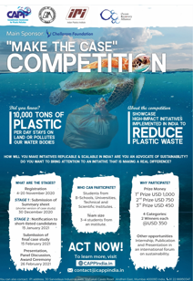 """Make the Case"" for  High-Impact Plastic Waste Initiatives in India"
