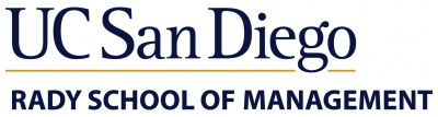University Of California San Diego - Rady School Of Management